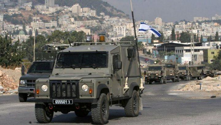 مركبة عسكرية إسرائيلية تدهس طفلاً في جنين