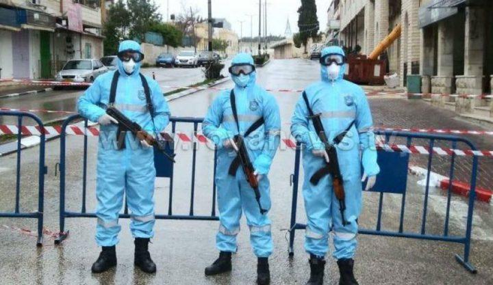 نابلس: القبض على مطلوبين للعدالة وتحرير مخالفات