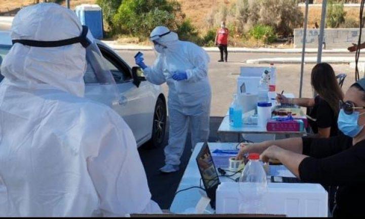 المجتمع العربي: 26 وفاة و4,395 إصابة جديدة  بكورونا في أسبوع