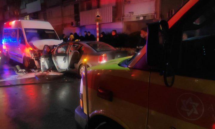 مصرع شاب وإصابة آخر في حادث طرق قرب حيفا