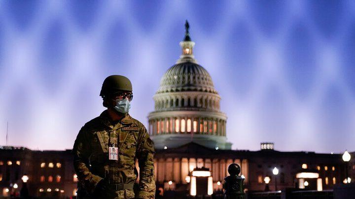واشنطن قيد الإغلاق قبيل تنصيب بايدن