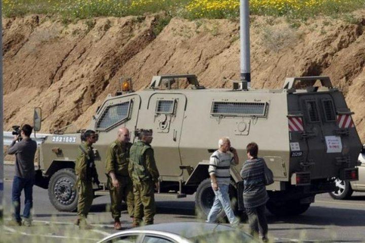 الاحتلال يغلق مداخل قرية التوانة جنوب الخليل