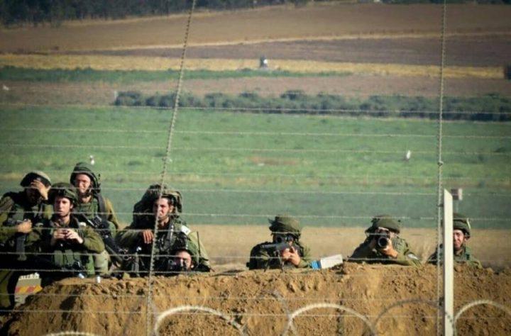 قوات الاحتلال تطلق النار على المزارعين شرق خانيونس