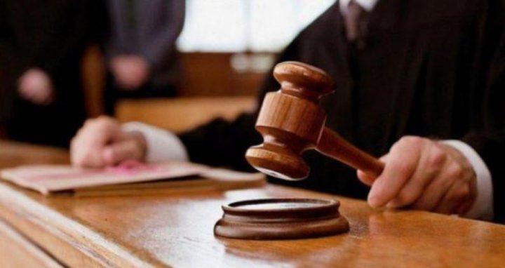 نابلس: الأشغال الشاقة 10 سنوات لمدانين بتهمة الشروع بالقتل القصد
