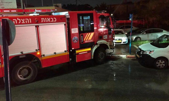 مصرع شخص بحريق في حيفا