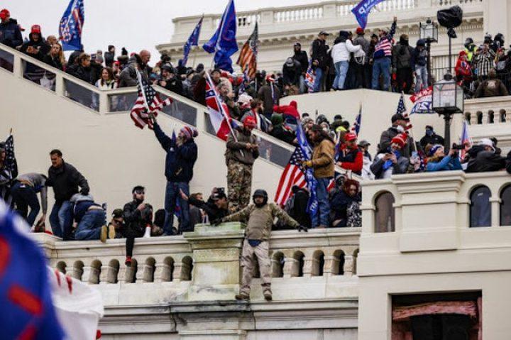 """""""النواب الأميركي"""" يبدأ التحقيق في أعمال الشغب بمبنى الكابيتول"""