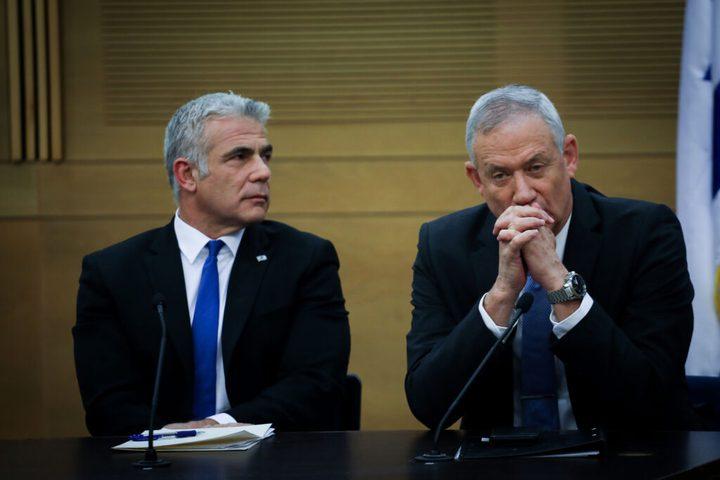 لبيد يرفض دعوة غانتس للتحالف تمهيدا لخوض انتخابات الكنيست
