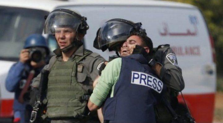 نقابة الصحفيين: 490 انتهاكا إسرائيليا بحق الصحفيين خلال 2020