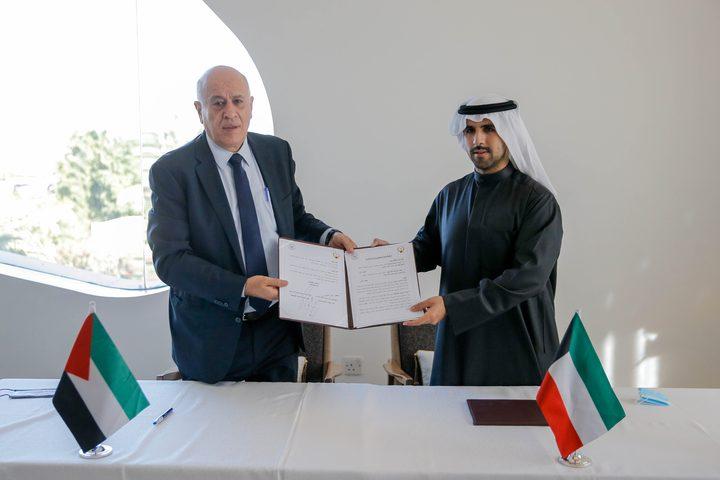الرجوب يوقع اتفاقية تعاون مع اللجنة الأولمبية الكويتية