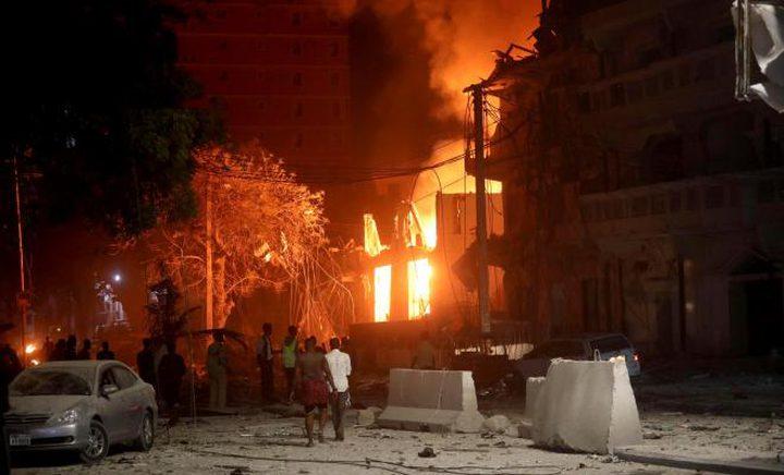 انفجار ضخم وقع في الشركة السورية للغاز بحمص