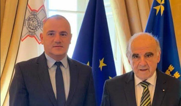 حنانيا يبحث مع رئيس الأكاديمية الدبلوماسية سبل تعزيز التعاون