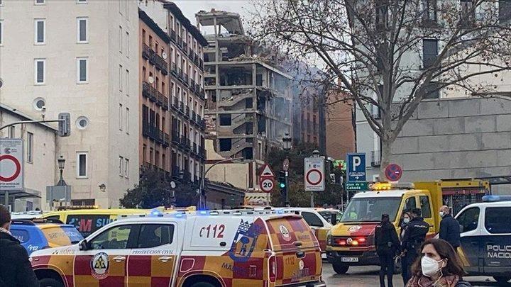 اسبانيا: مقتل اثنين في انفجار وسط مدريد