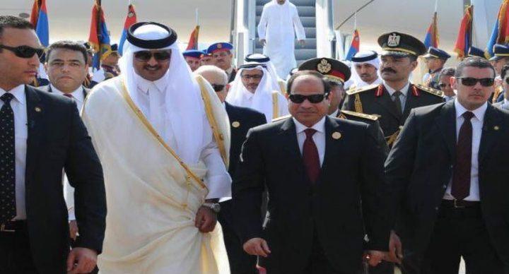 استئناف العلاقات الدبلوماسية بين مصر وقطر