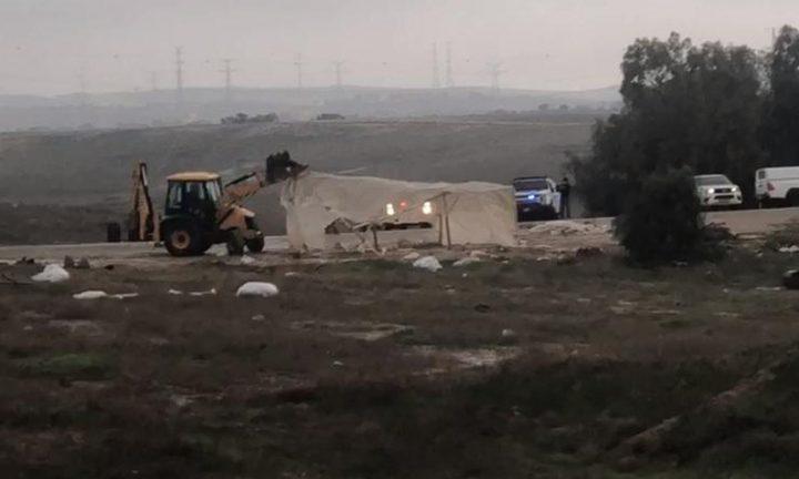 جرافات الاحتلال تهدم العراقيب للمرة 182