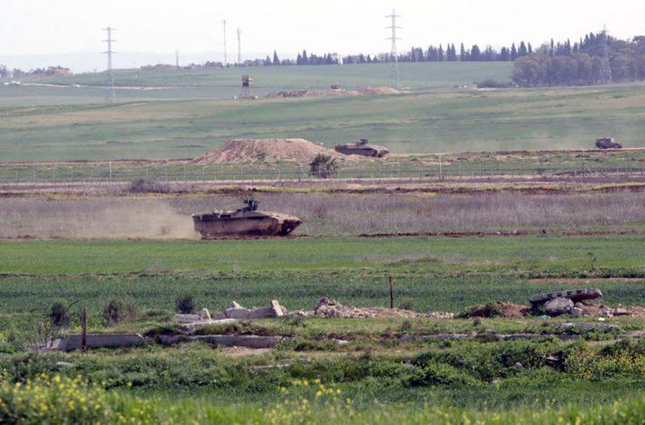 الاحتلال يستهدف المزارعين شرق خان يونس