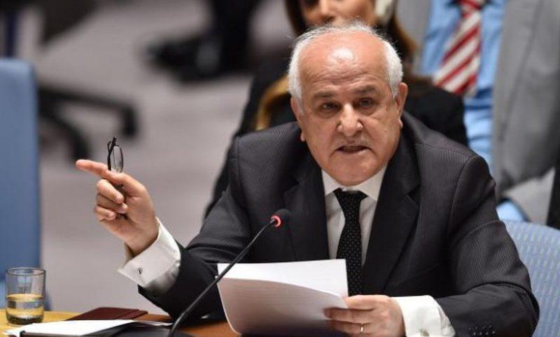 منصور يبعث رسائل أممية متطابقة حول انتهاكات الاحتلال الإسرائيلي