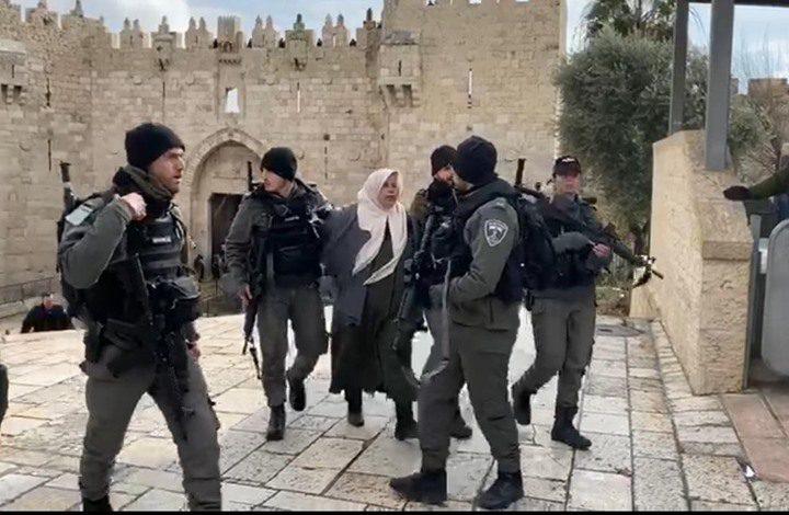 القدس: قوات الاحتلال تقتحم بلدتي حزما والطور