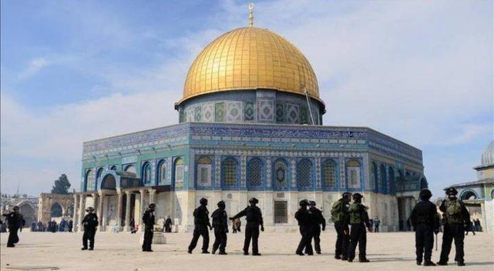 القدس: الاحتلال يمنع تنفيذ أعمال ترميم في قبة الصخرة