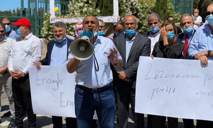 القُطرية تُوصي تصعيد الإجراءات الاحتجاجية ضد العنف والجريمة