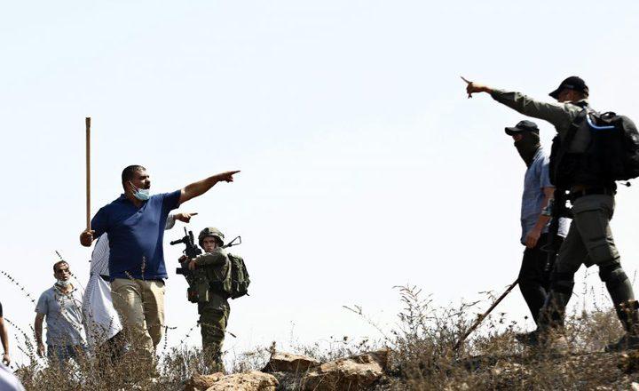بيت لحم: مزارعون يطردون مستوطنين اقتحموا أرضهم في المعصرة
