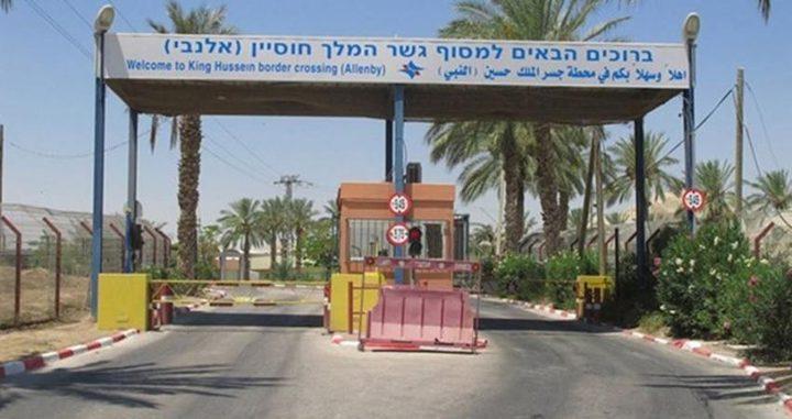 بسبب كورونا..الاحتلال يقرر اغلاق المعابر الحدودية مع الأردن ومصر