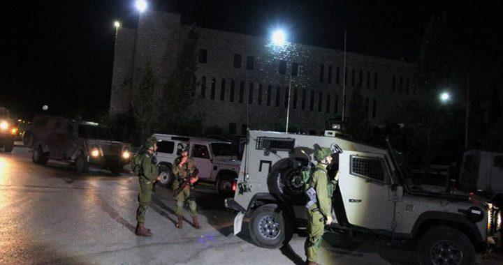 قوات الاحتلال تقتحم عدة بلدات في محافظة نابلس