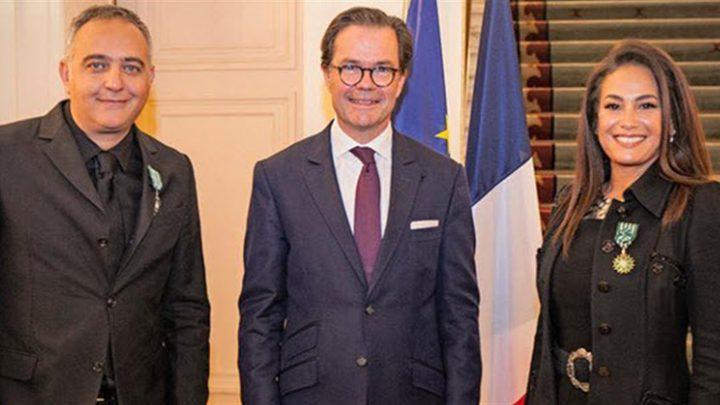 فرنسا تمنح الفنانة هند صبري والمنتج محمد حفظي وسام الفنون والآداب