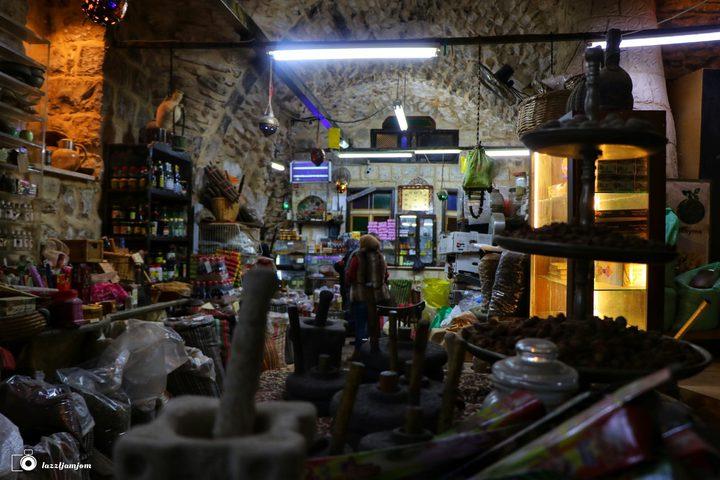 جولة في مطحنة بريك في البلدة القديمة بنابلس   تصوير : عزت جمجوم