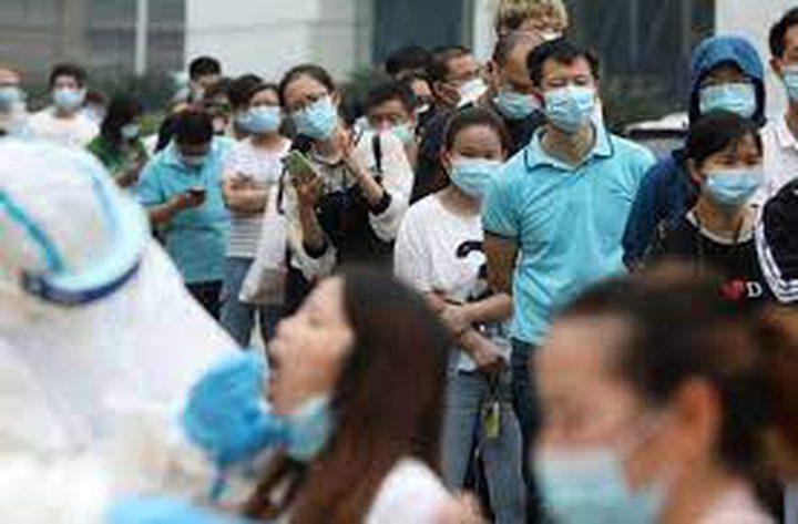 الصين تشهد أكبر زيادة يومية في إصابات كورونا