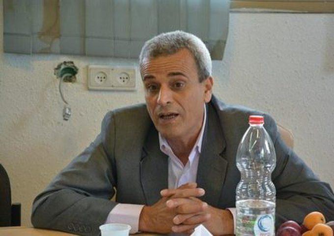 رواجبة يطلع ممثل سويسرا على الأوضاع في محافظة قلقيلية