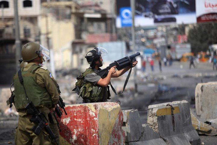 جنين: إصابة شاب برصاص الاحتلال بسيلة الحارثية