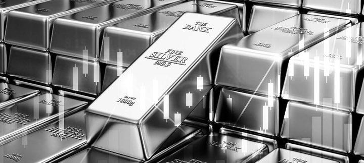 الفضة ترتفع إلى ذروة 6 أشهر