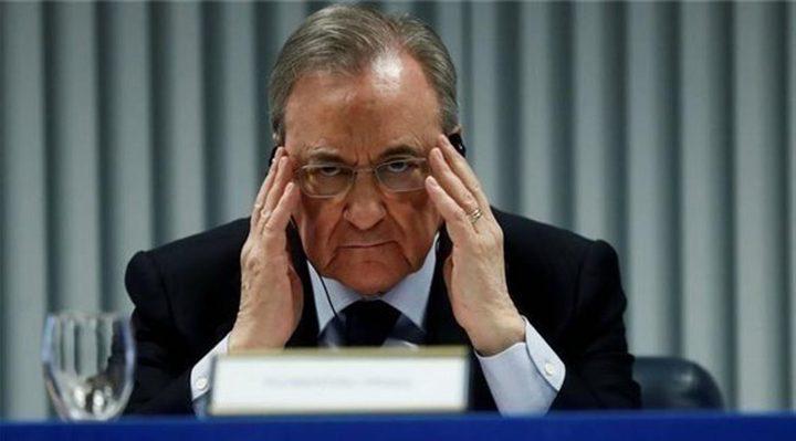 اصابة رئيس نادي ريال مدريد بكورونا