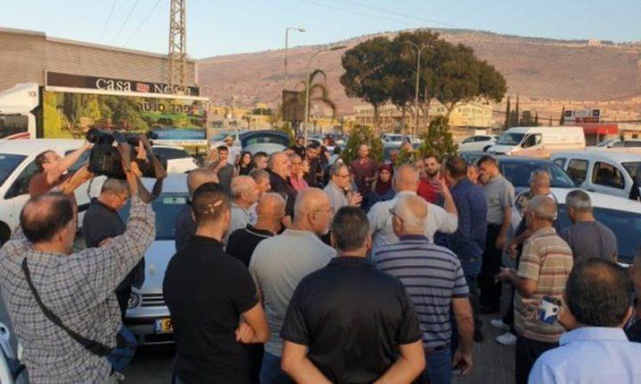 اضراب في طمرة احتجاجا على مقتل شابينبرصاص شرطة الاحتلال