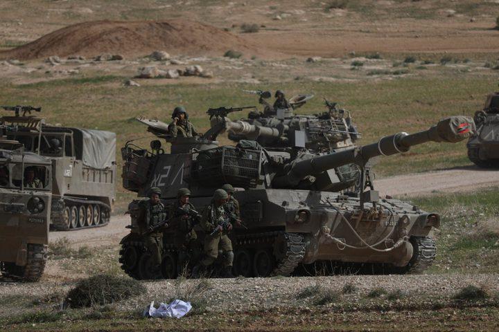 الاحتلال يواصل تدريباته العسكرية بمسافر يطا
