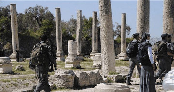 اصابات بالاختناق خلال اقتحام قوات الاحتلال بلدة سبسطية