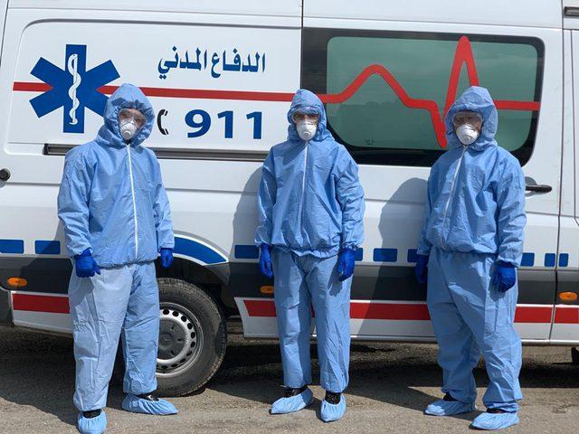 """الأردن: 10 وفيات و1280 إصابة جديدة بـ"""" كورونا"""""""