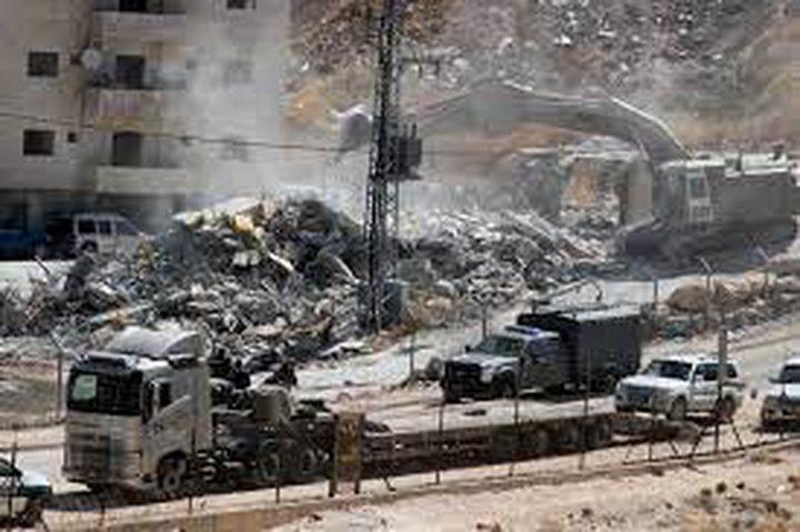 الاحتلال يهدم منزلا قيد الانشاء في عناتا