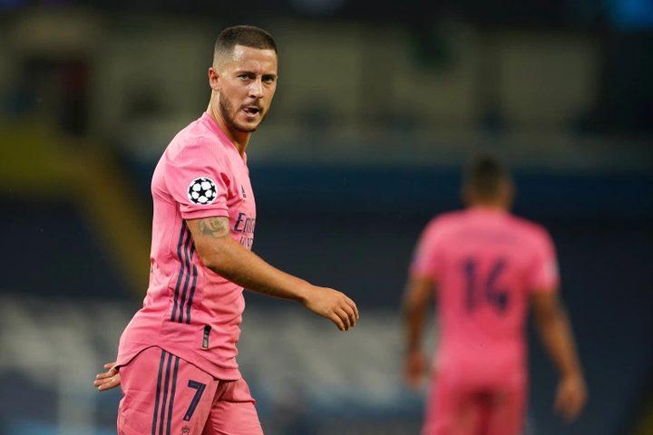 """""""المصائب لا تأتي فرادى"""".. ريال مدريد يخسر هازارد في دوري الأبطال"""