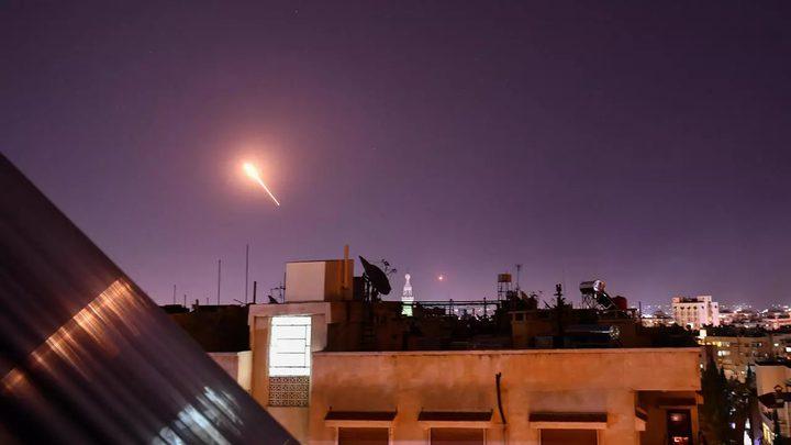 """سوريا تتصدى ل """"عدوان إسرائيلي"""" جنوب البلاد"""