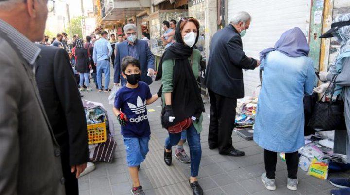 67 وفاة جديدة بفيروس كورونا في ايران