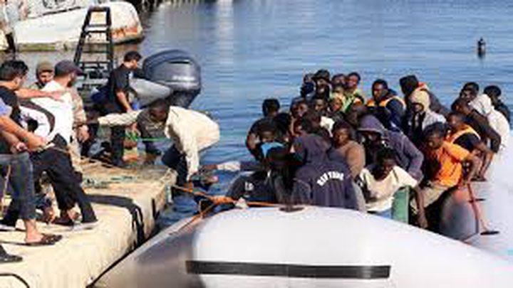 إنقاذ مئات المهاجرين قبالة سواحل ليبيا
