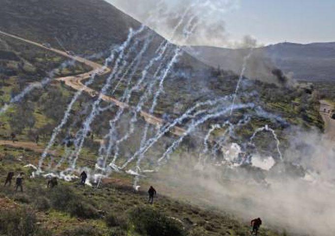 إصابات خلال تصدي المواطنين لمستوطنين جنوب نابلس
