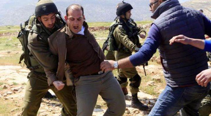 سلفيت: عشرات الاصابات جراء قمع الاحتلال فعالية لزراعة الأشجار