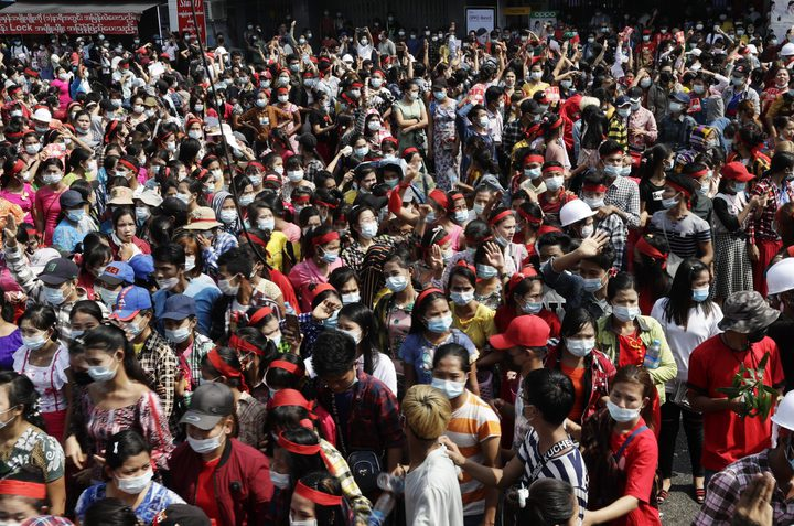 انقطاع الانترنت في جميع أنحاء ميانمار