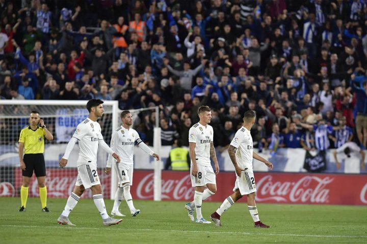 """""""الواقع المرير"""".. ريال مدريد """"تاسعا"""" في قائمته المفضلة"""