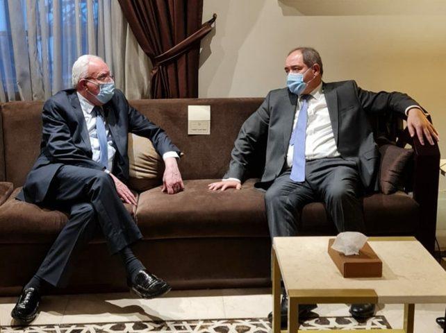 المالكي يبحث آخر التطورات السياسية مع وزير خارجية الجزائر