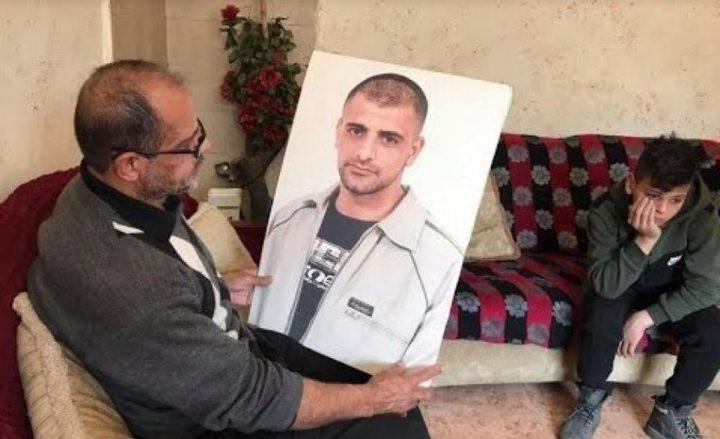 نادي الأسير: وضع الأسير المريض بالسرطان حسين مسالمة حرج