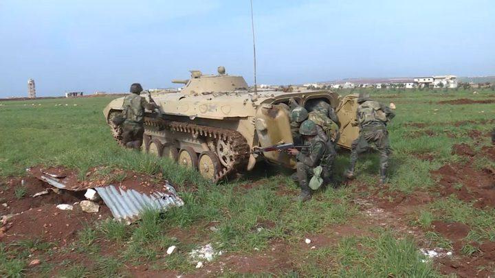 روسيا: اجراء سلسلة تدريبات عسكرية مع قوات الدبابات السورية