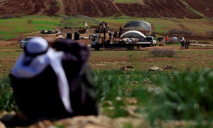 الأردن يدين هدم قوات الاحتلال لخربة حمصة
